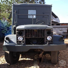 Caminh�o Militar REO M35 6x6 ba� oficina home 1951 food truck