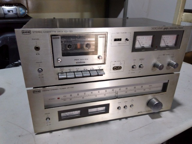 Tuner + tape deck cce - Foto 2
