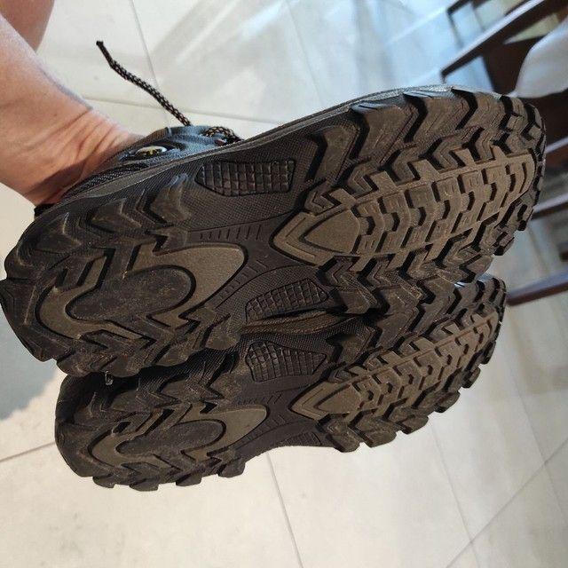 Par de botas infantil Tam. 35 - Foto 4