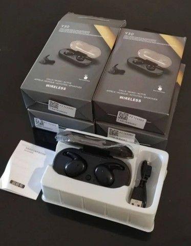 Fone Bluetooth Y30 TWs - NOVO, na caixa! Aceito cartão - Foto 2