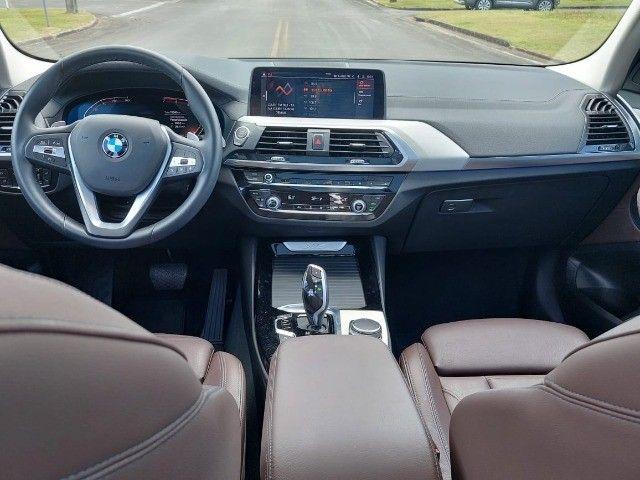 BMW X3 Xdrive20i 2.0 Biturbo 4x4 - 2020 - Impecável c/ Apenas 9.000km - Foto 8