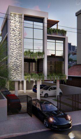 Apartamentos tipo padrão e cobertura Bancários