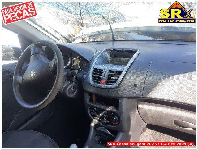 Sucata Peugeot 207 xr 1.4 flex 2009  - Foto 3