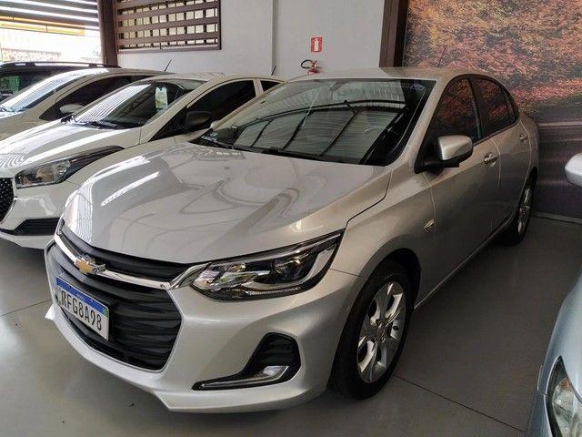 Chevrolet GM Onix Sedan Plus Premier 1.0 Turbo Prata