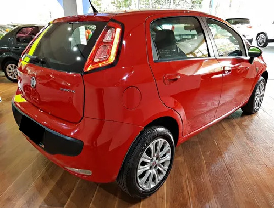 Fiat Punto 1.4 Attractive Italia 8v Flex 4p Manual-2013 - Foto 2