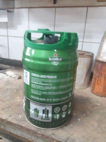 Lata de serveja vasia 5 litros. 20 unidades  - Foto 3