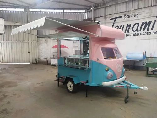 Trailler Kombi Food Truck Corujinha (sob Encomenda)<br><br> - Foto 2