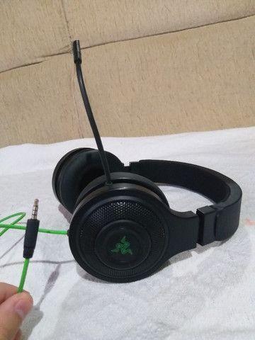Headset Gamer Razer Kraken Essential Usado - Foto 2