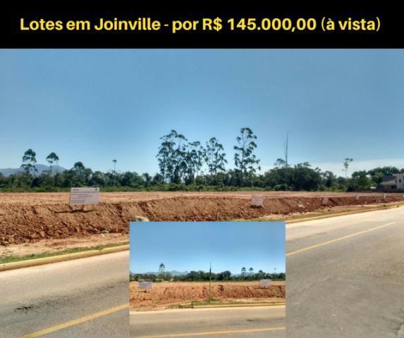 Lotes em Joinville por R 145.000,00