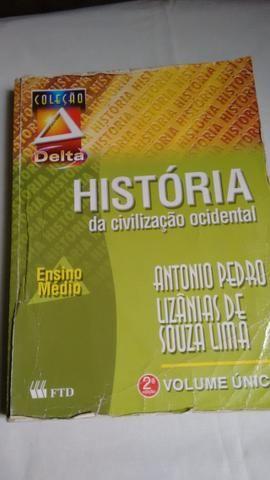 Historia da Civilização Ocidental, coleção Delta, ensino médio, volume unico, 560 páginas,