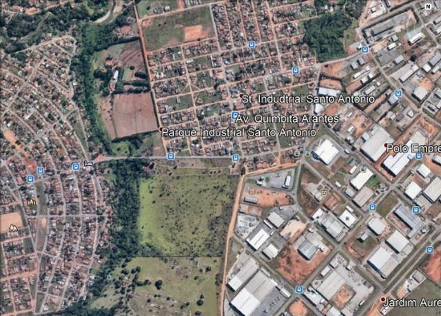 Lotes 756 M2 Industrial Santo Antonio Aparecida de Goiânia, Bem Próximo Polo Industrial