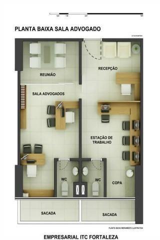 Sala Comercial 28,20m² com vaga no ITC Rio Mar - Foto 10