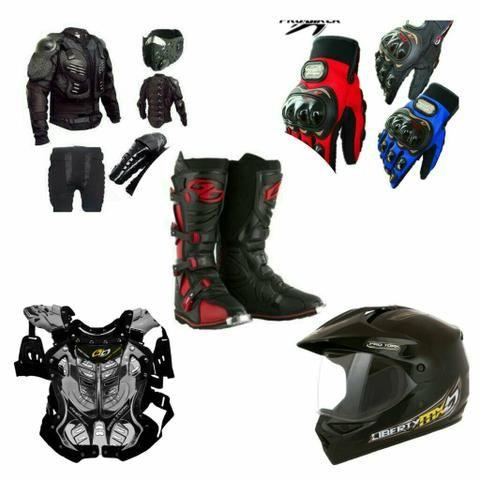 Equipamentos / acessórios para Trilha, Cross, Trail, Moto e Motociclista, a preço de custo