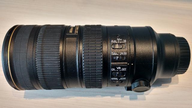 Lente Nikon AF-S Nikkor 70-200 mm F/2.8g Ed VR II