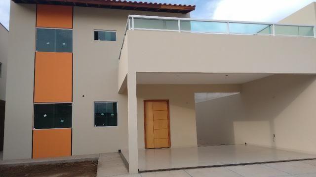 Casa duplex nova ao lado do Mirante do LAgo com 4 suítes sendo 1 master com closet varanda