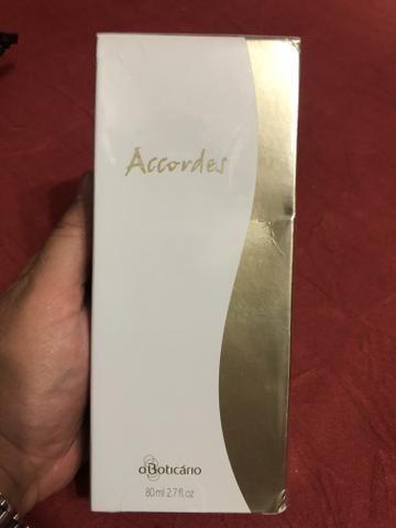 Perfume Acordes Novo