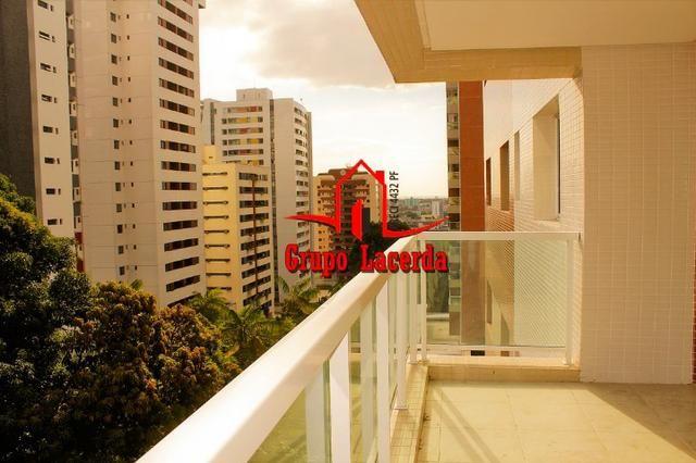 Apartamento Authentic Recife em Adrianópolis com 140m² 3 suítes + 1 dorm