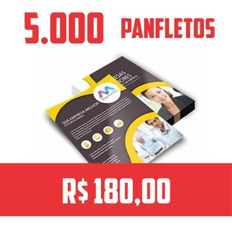 5.000 Planfleto 10 x 15cm