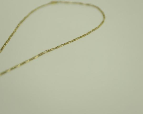 Linda corrente em ouro maciço 18k + pingente sol total 12,5 gramas de ouro!