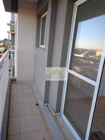 Apartamento com 2 dormitórios para alugar, 50 m² por r$ 850/mês - ipiranga - ribeirão pret - Foto 3