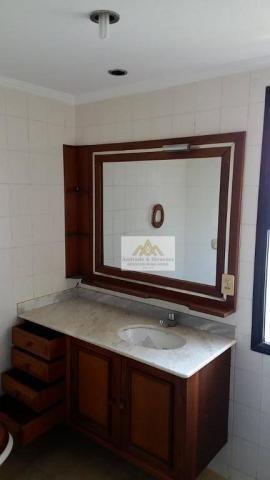 Apartamento com 3 dormitórios para alugar, 107 m² por r$ 1.300/mês - centro - ribeirão pre - Foto 15