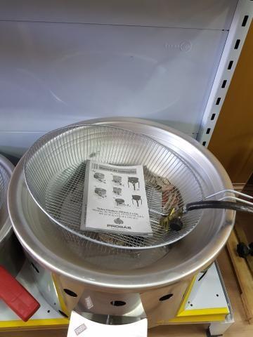 PROMOÇÃO! Fritadeira a gás de 7 Litros - NOVA - Foto 2