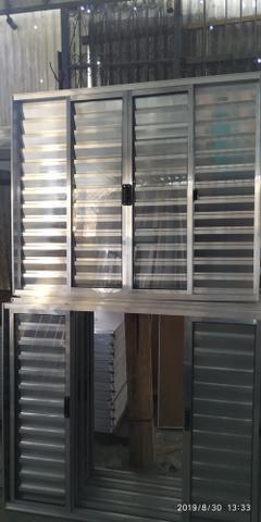 Portas, janelas, porta Balcão esquadrias em alumínio - Foto 3