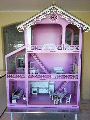 Casa de boneca para Barbie - Foto 2