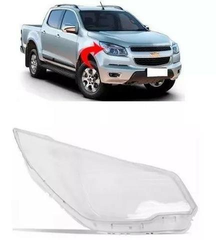 Lente Farol Chevrolet S10 2012 2013 2014 2015 2016 Direito
