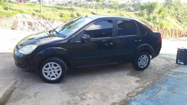 Fiesta sedan preto flex - Foto 12