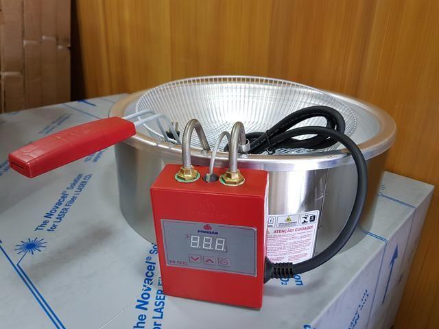 Fritadeira elétrica de 7 Litros - Visor digital e Função timer