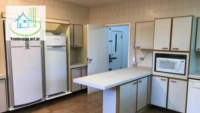 Apartamento com 5 dormitórios para alugar, 541 m² por r$ 23.000/mês - santo amaro - são pa - Foto 8