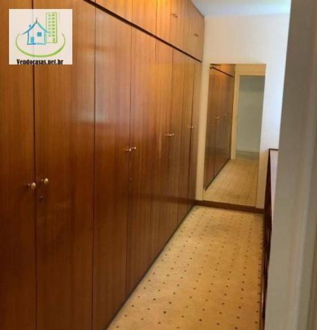 Apartamento com 5 dormitórios para alugar, 541 m² por r$ 23.000/mês - santo amaro - são pa - Foto 17