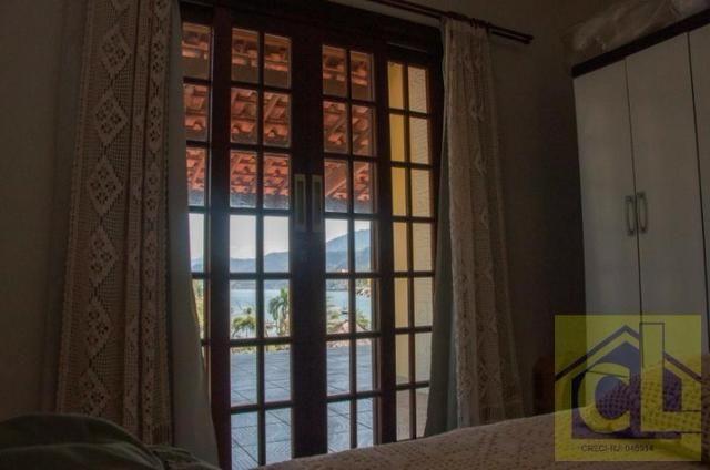 CL 01- Casa na Ilha de Itacuruçá Mangaratiba-RJ com fantástica vista para o mar - Foto 13