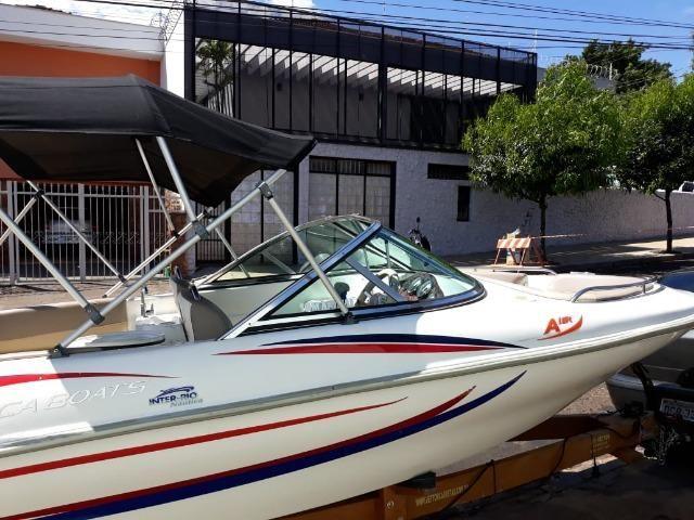 Lancha Atlantic Boat 16 Pés Motor 60Hp - Foto 14