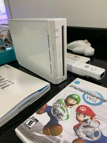 Nintendo Wii + HD com diversos jogos