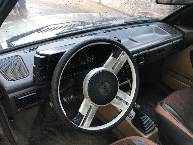 Volkswagen gol GL motor 1.8 cor bege ano 1991 muito conservado. - Foto 6
