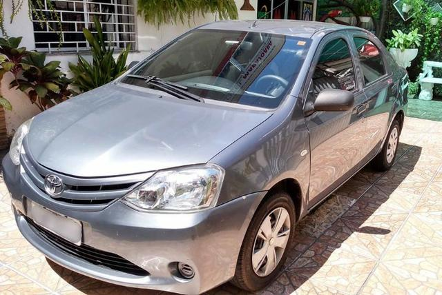 Toyota Etios 1.5 Sedan 2013 Flex Conservado IPVA e Licenciamento 2020 Pagos - Foto 5