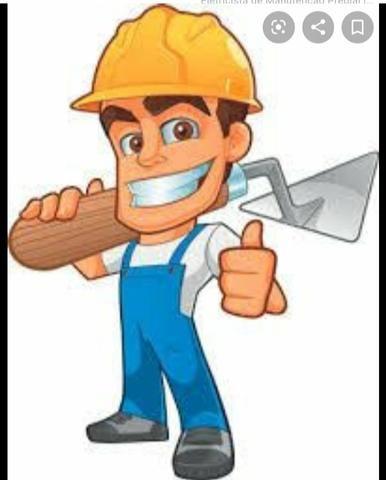 Serviços de acabamento (pedreiro, eletricista e pintor)