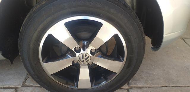 Troco jogo de rodas 14 com o pnel novos em jogo de rodas 17 - Foto 5