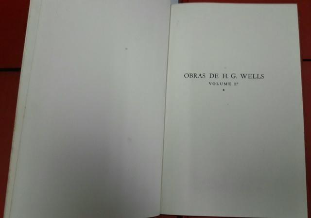 Livros Obras de H.G. Wells volumes 1 ao 10 - Foto 5