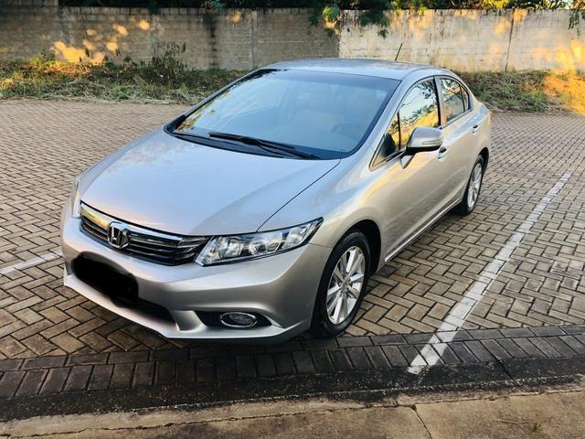 Honda Civic 1.8 LXL Automático 2013 IPVA PAGO - Foto 6