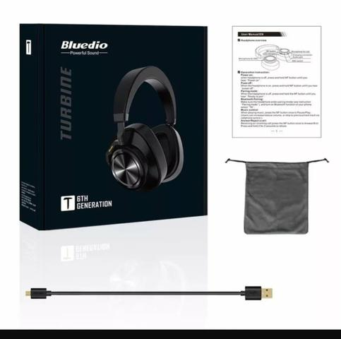 Headphone Bluedio T6 bluetooth - Foto 2