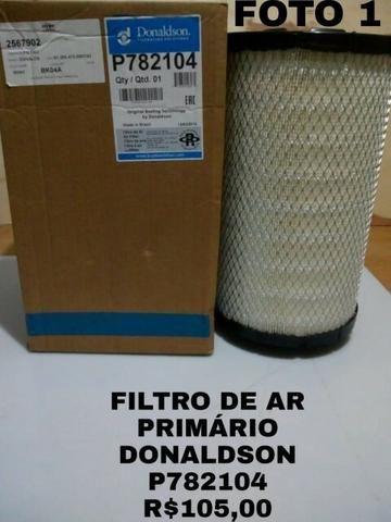 Filtros de Ar Secundários e Primários Donaldson Mod P619859, P776695, P782104, P782107 - Foto 3