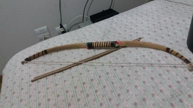 Arco e flecha indígena - Decorativo - Foto 2