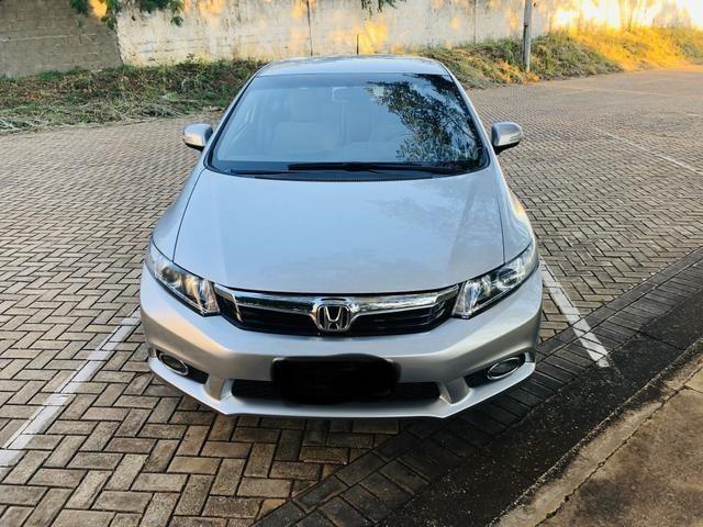 Honda Civic 1.8 LXL Automático 2013 IPVA PAGO - Foto 4