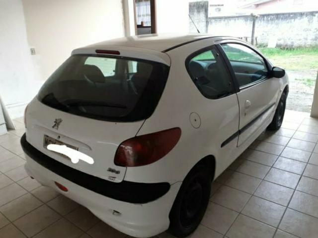 Vendo Peugeot 206 1.4 Flex - Foto 2