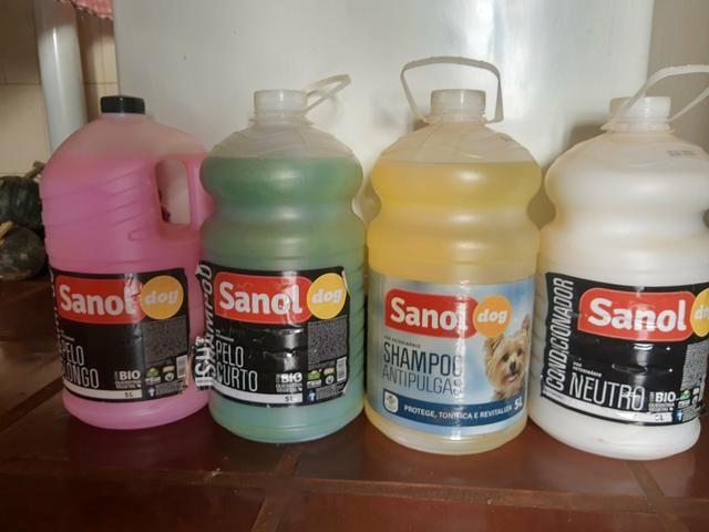 Shampoo linha profissional sanol