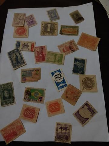 Selos antigos e alguns mas atuais - Foto 3