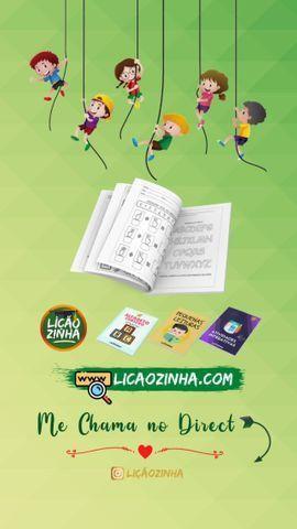 Kit Liçãozinha mais 200 Atividades infantis - Foto 2